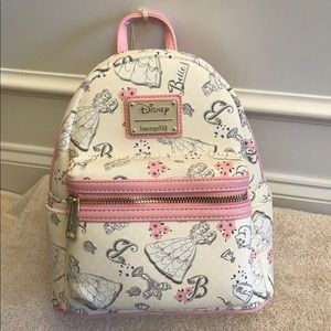 Disney Beauty & the Beast Belle Loungefly Bag